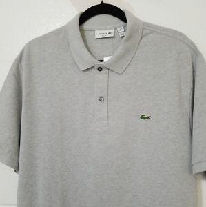 NWT LACOSTE Short Sleeve SLIM FIT Polo Golf Shirt